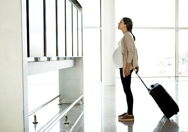 Reisen Sie während der Schwangerschaft